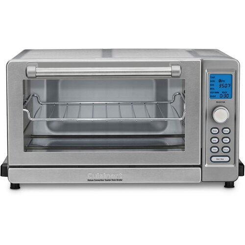 Countertop Convection Oven Toaster : Cuisinart Deluxe Convection Toaster Oven Broiler & Reviews Wayfair