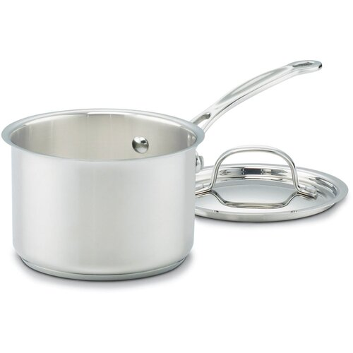 Chef's Classic Stainless 1-qt. Saucepan with Flavor Lock Lid