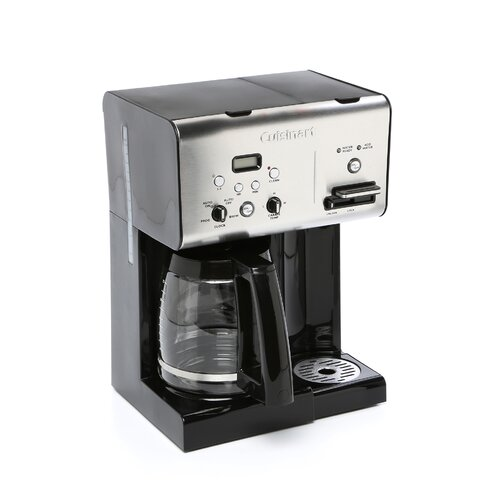 Cuisinart Programmable 12-Cup Coffee Maker with Hot Water System & Reviews Wayfair