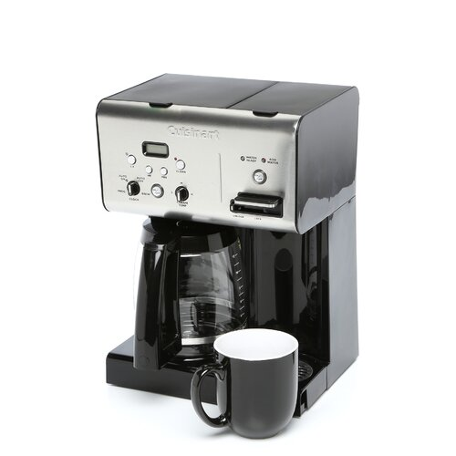 Cuisinart 12 Cup Coffee Maker With Hot Water System Black : Cuisinart Programmable 12-Cup Coffee Maker with Hot Water System & Reviews Wayfair