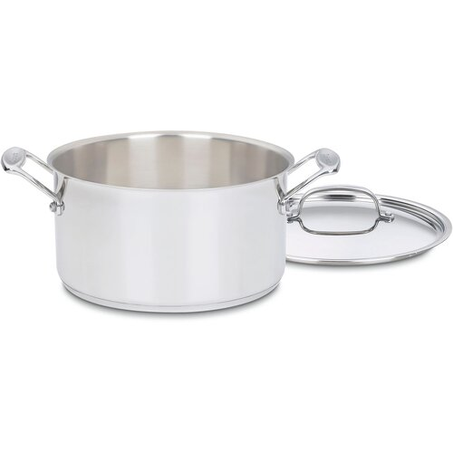 Chef's Classic Stainless Steel Stock Pot with Lid