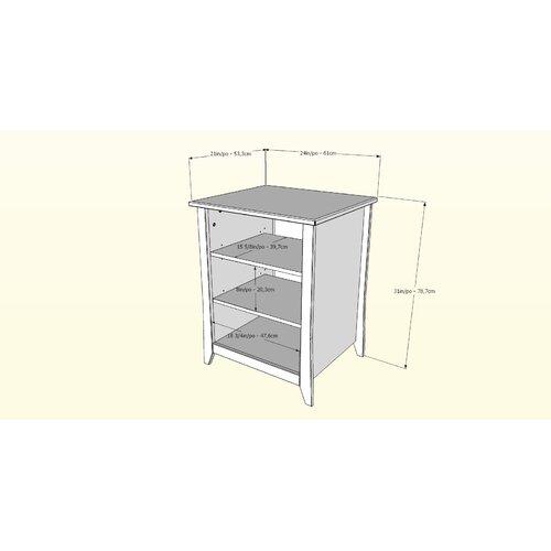Nexera Vice Versa Stereo Cabinet