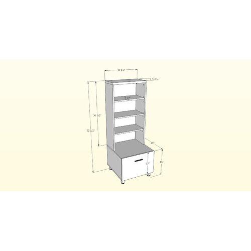 Nexera Element Wide Satellite Audio Cabinet