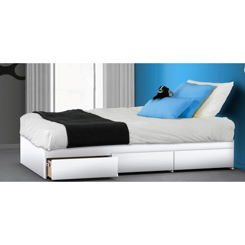 Nexera BLVD Reversible Bed with Storage