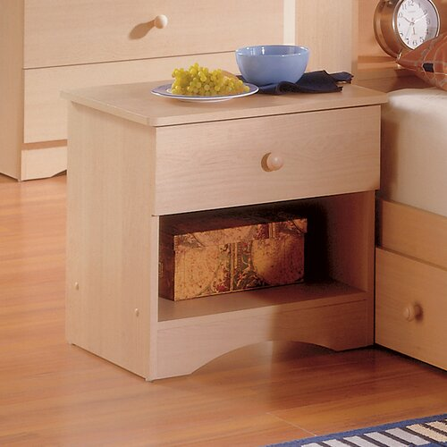 Nexera Alegria 1 Drawer Nightstand
