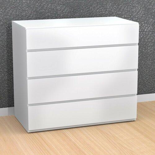 Nexera BLVD 4 Drawer Dresser
