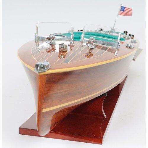 Old Modern Handicrafts Chris Craft Triple Cockpit New Model Boat