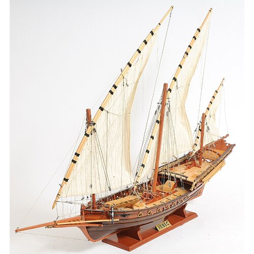 Old Modern Handicrafts Xebec Sailing Model Ship