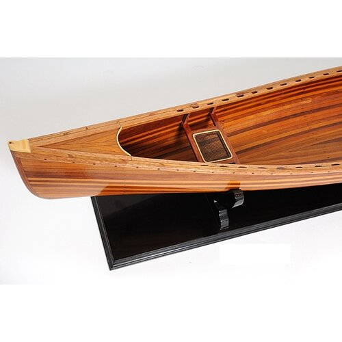Old Modern Handicrafts Canoe Model Boat