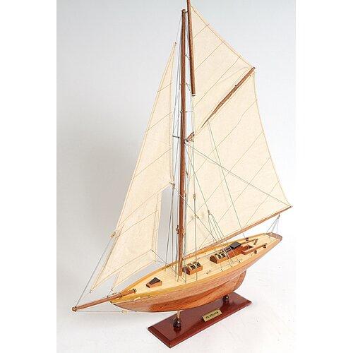Old Modern Handicrafts Small Penduick Model Boat