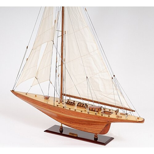 Old Modern Handicrafts Large Shamrock Model Boat
