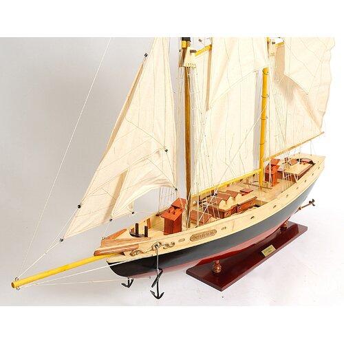 Old Modern Handicrafts Large Bluenose Ii Model Boat