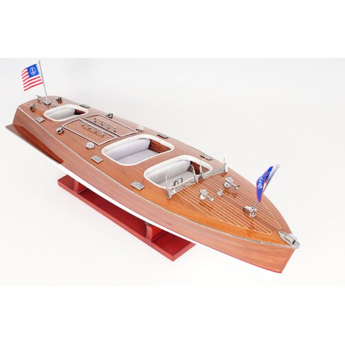 Old Modern Handicrafts Chris Craft Triple Cockpit Model Boat