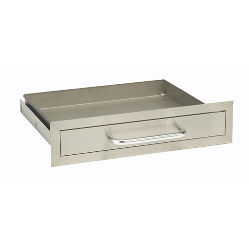 Bull Outdoor Products Stainless Steel Single Drawer