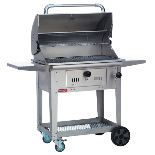 Bull Outdoor Products Bison Charcoal Grill with Cart