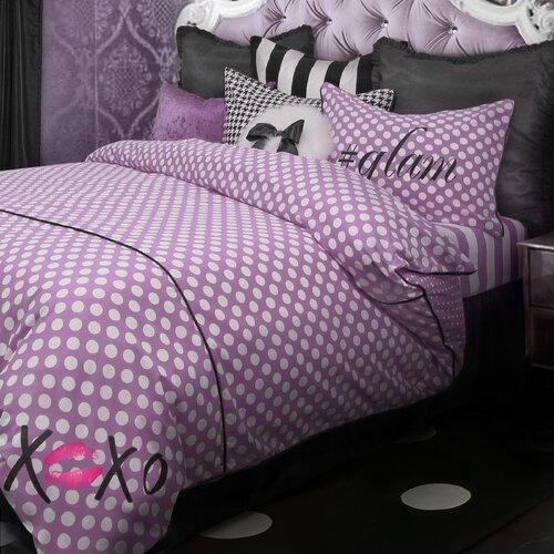 Wake Up Frankie Love Dots 2 Piece Duvet Set