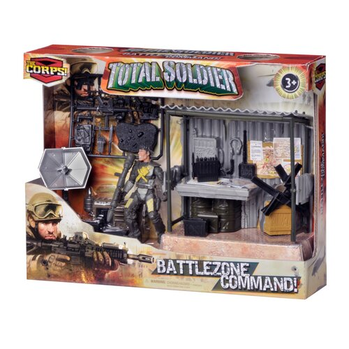 Lanard Corps 5 Piece Total Soldier Battle Zone Command Station Set