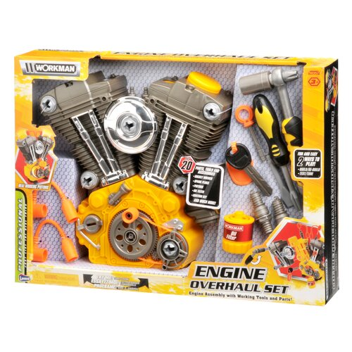 Lanard Workman 20 Piece Power Tools Engine Overhaul Kit