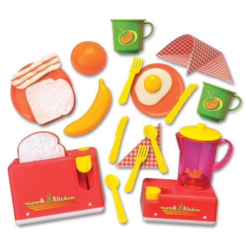 Lanard Cook N' Kitchen 10 Piece Rise and Shine Breakfast Set