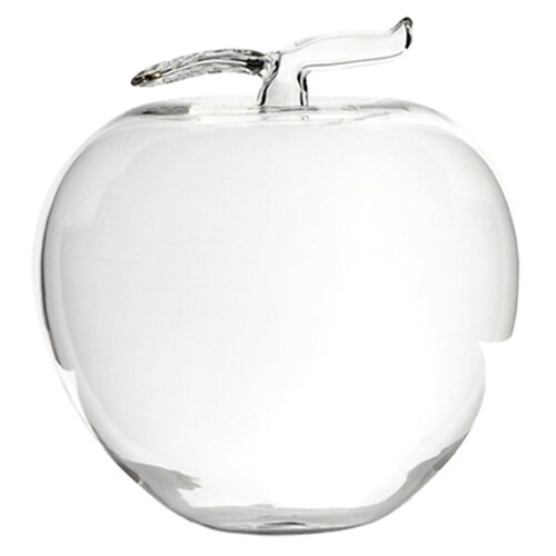 DK Living Glass Apple Figurine
