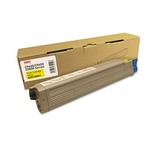 OEM Toner Cartridge, 16500 Page Yield , Yellow
