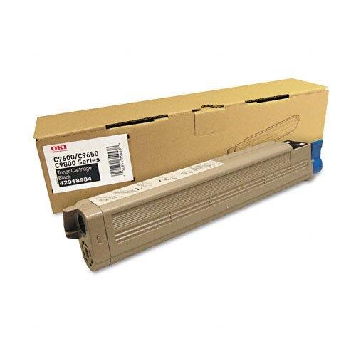 42918984 OEM Toner Cartridge, 18500 Page Yield, Black