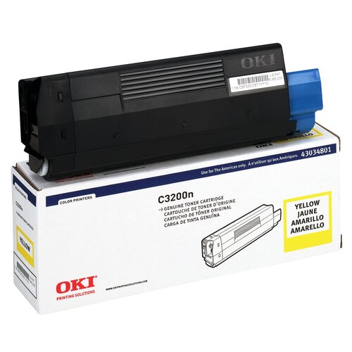 OEM Toner Cartridge, 1500 Page Yield, Yellow