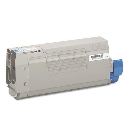 43866103 OEM Toner Cartridge, 11500 Page Yield, Cyan