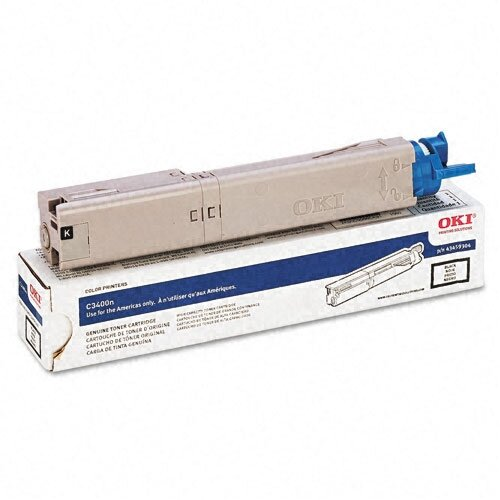 43459304 OEM Toner Cartridge, 2500 Page Yield, Black