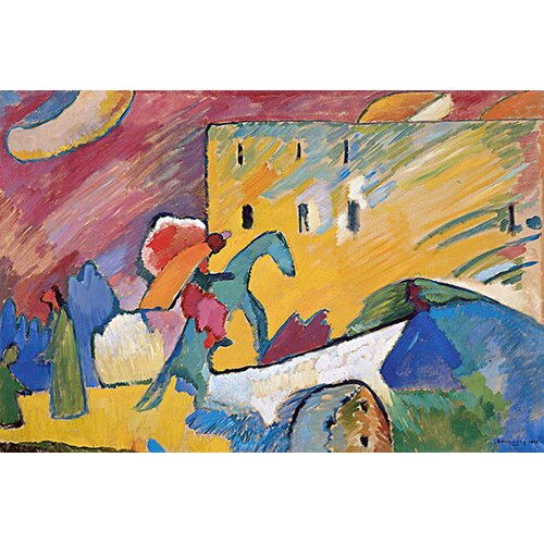 iCanvasArt 'Improvisation 3' by Wassily Kandinsky Painting Print on Canvas