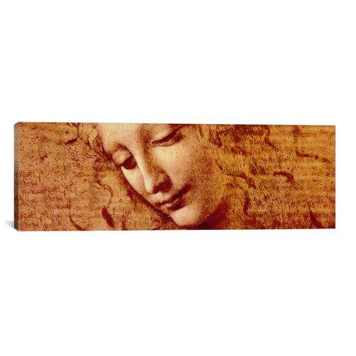 iCanvasArt 'Female Head' by Leonardo da Vinci Painting Print on Canvas
