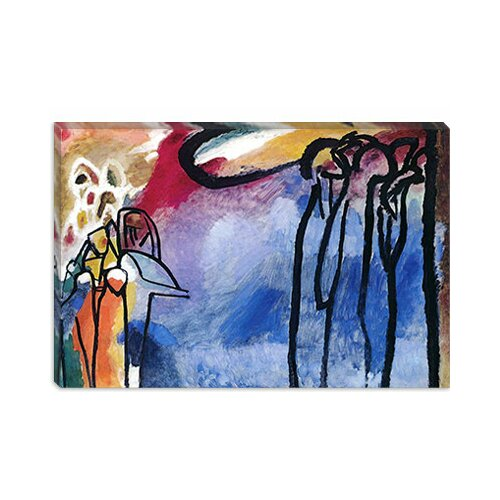 iCanvasArt Improvisation 19 II by Wassily Kandinsky Painting Print