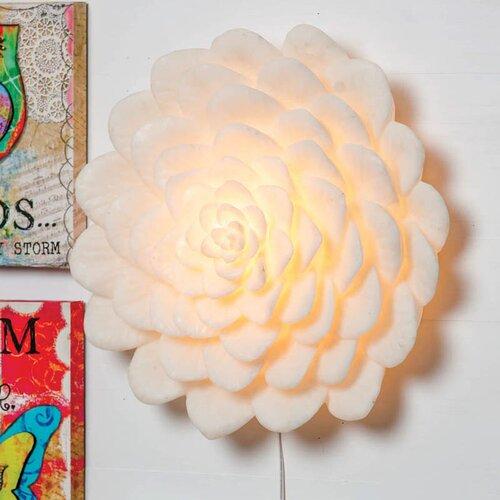 Cape Craftsmen Bohemian Rhapsody Flower Table Lamp