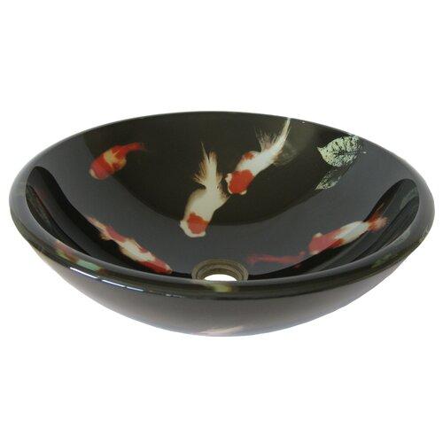 Bathroom Glass Vessel Sinks : Fiche Glass Vessel Bathroom Sink Wayfair