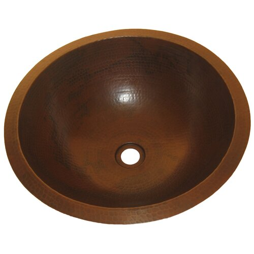 Caracas Undermount Copper Bathroom Sink