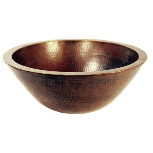 novatto san jose copper vessel bathroom sink