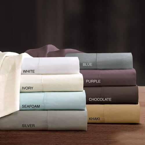 Sleep Philosophy Liquid 300 Thread Count Sheet Set