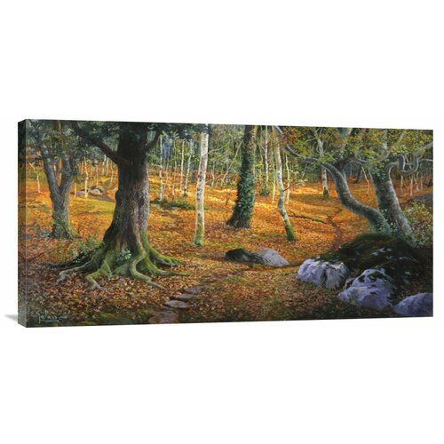 'Sottobosco' by Adriano Galasso Painting Print on Canvas