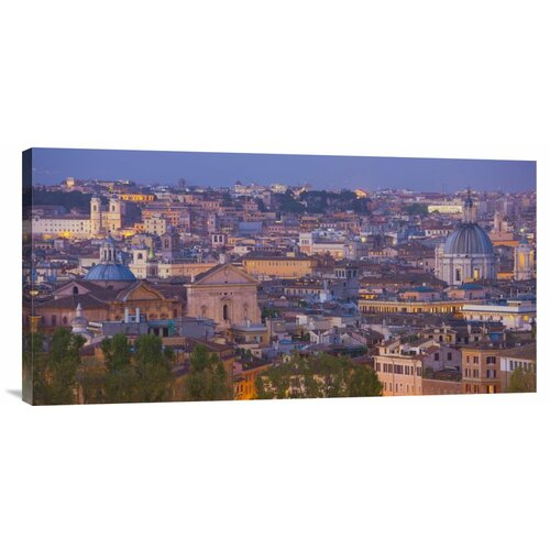 'View of the Historic Center of Rome at Night' by Miles Ertman Photographic Print on ...
