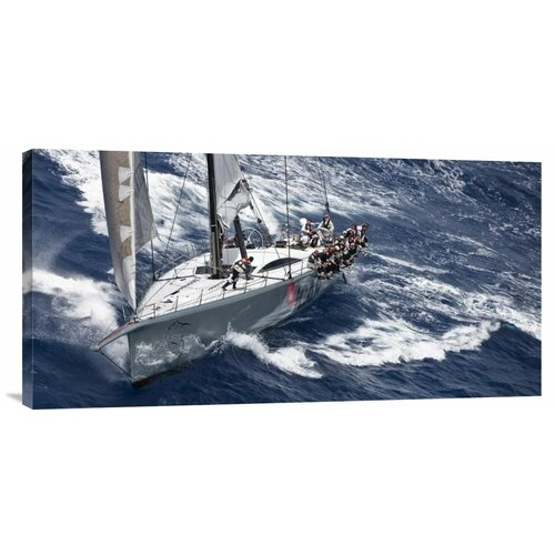 'Caribbean 600' by Carlo Borlenghi Painting Print on Canvas