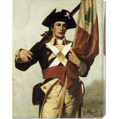 'Soldier of The Revolution' by George Willoughby Maynard Painting Print on Canvas