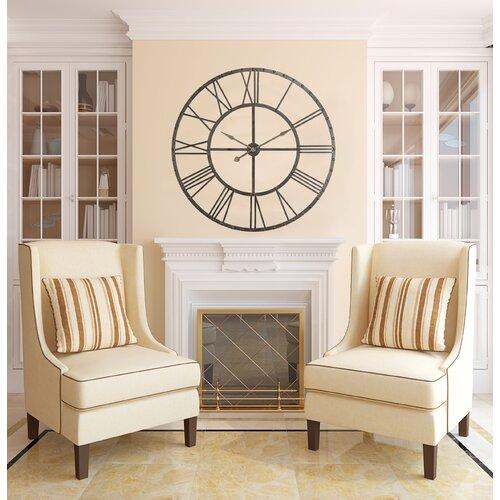 "Cooper Classics Oversized 44.5"" Upton Wall Clock"