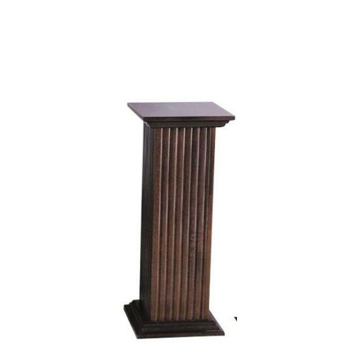 Cooper Classics Fluted Pedestal Table Amp Reviews Wayfair