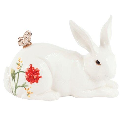 Flower Market Rabbit Figurine