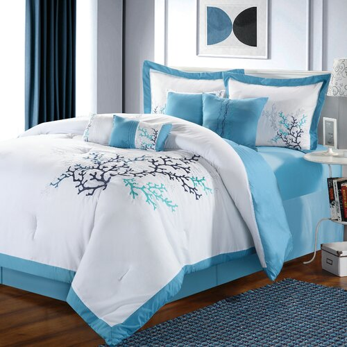 Chic Home Coral Reef 8 Piece Comforter Set