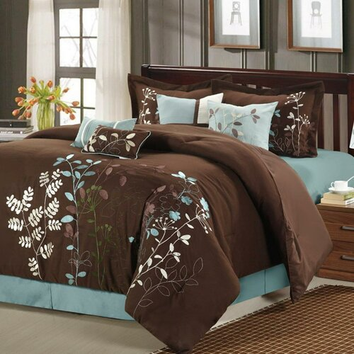 Fancy Bedroom Chairs Modern Zen Bedroom Rustic Chic Bedroom Decor Exclusive Bedroom Sets: Chic Home Bliss Garden 12 Piece Comforter Set & Reviews
