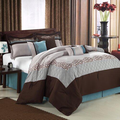 Chic Home Mustang 8 Piece Comforter Set