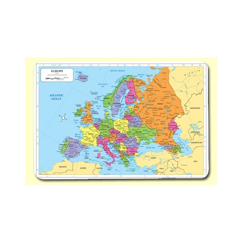 Painless Learning Placemats Europe Placemat