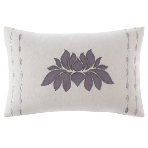 Under the Canopy Lotus Cotton Decorative Pillow