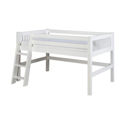 Camaflexi Twin Low Loft Bed